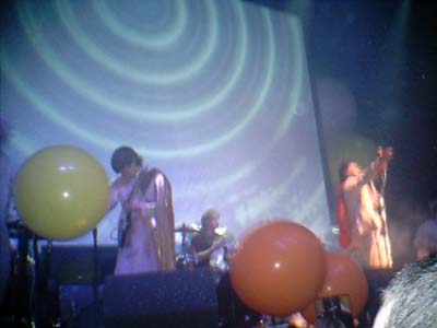 The Flaming Lips (Steve Burns & Alfie), Carling Academy, Glasgow - 8th November 2003